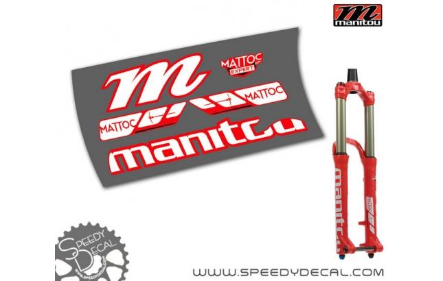 Manitou Mattoc Expert 27.5 - adesivi per forcella