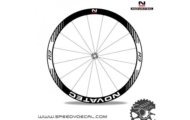 Novatec R3 - adesivi per ruote