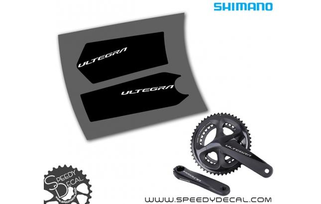 Shimano Ultegra R8000 - adesivi per pedivelle