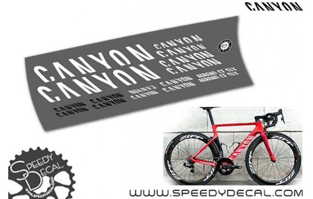Canyon Aeroad CF SLX - kit adesivi telaio