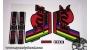 Fox 40 Series World Cup - adesivi personalizzati per forcella