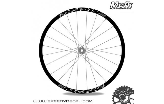 MCFK 25 - Adesivi per ruote