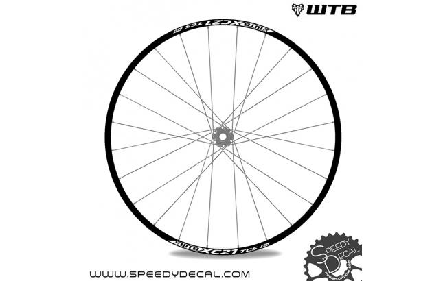 WTB XC21 TCS 27.5 - adesivi per ruote