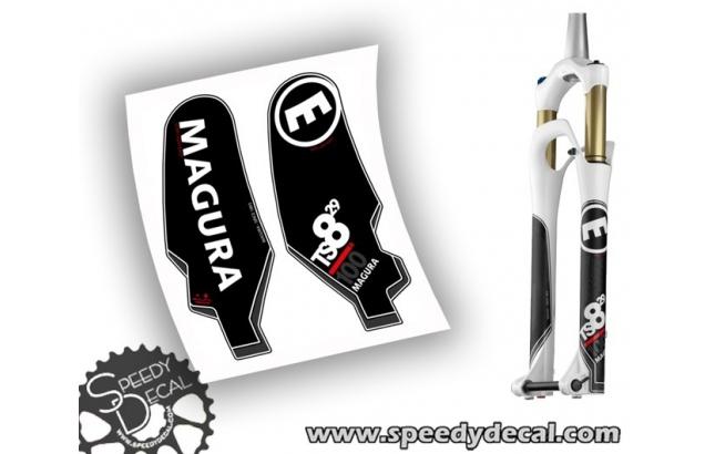 Magura TS8 R 100 - adesivi per forcella