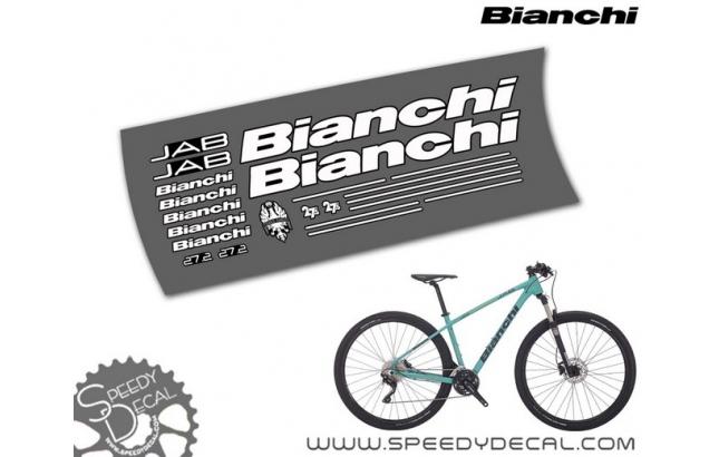 "Bianchi Jab 27.2 27.5"" - kit adesivi telaio"