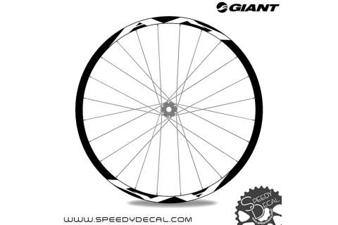 Giant AM 27.5 - adesivi per ruote