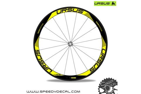 Ursus Miura T47 Team Edition 2018 - adesivi per ruote