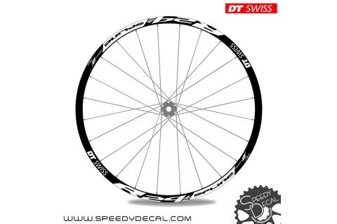 DT Swiss R24 DB Spline disc - adesivi per ruote