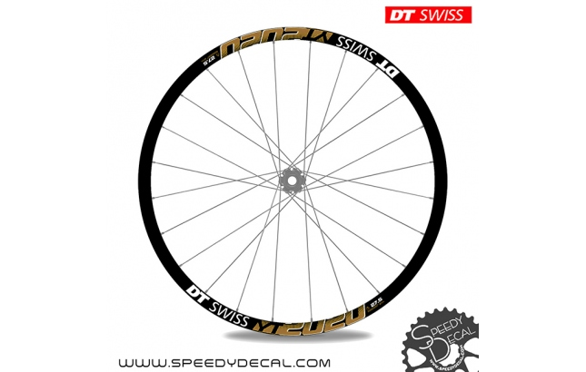DT Swiss YT2020 27.5 - adesivi per ruote