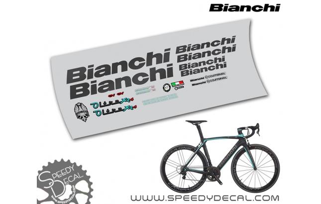 Bianchi Oltre XR4 - kit adesivi telaio