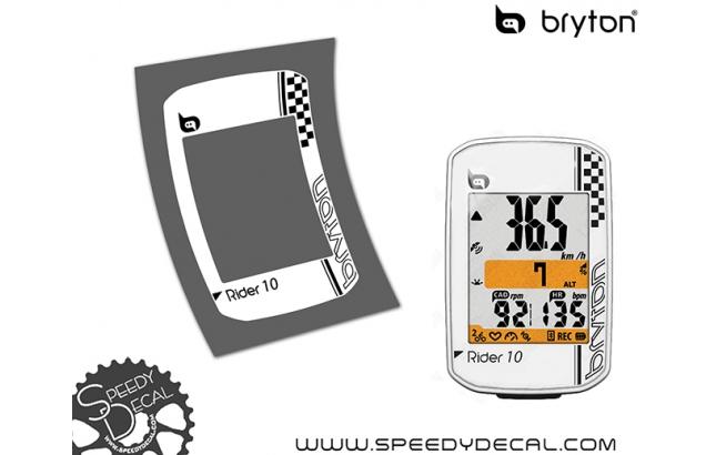 Bryton Rider 10 - cover adesiva