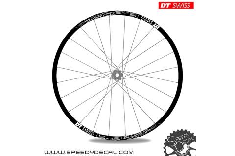 DT Swiss E1900 Spline 27.5 - adesivi per ruote
