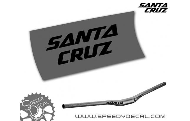 Santa Cruz Carbon rise bar - adesivi per manubrio