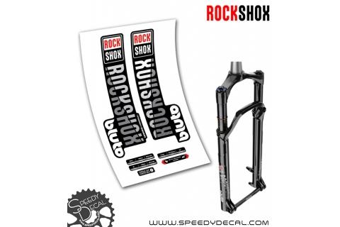 Rock shox Bluto RL / RCT3 anno 2019 - adesivi per forcella