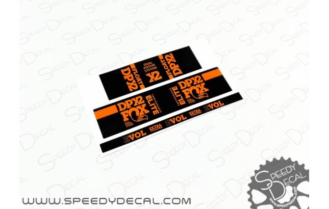 Rear shock absorbers - SPEEDYDECAL SRL