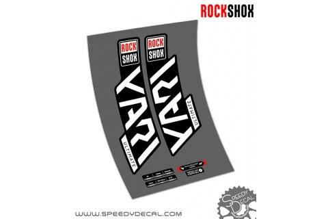 Rock shox Yari RC Ultimate anno 2020- adesivi per forcella