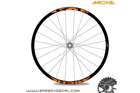 Miche K-1 Team Issue 2018 - adesivi per ruote