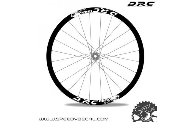 DRC BIG HIT 29'' - adesivi per ruote