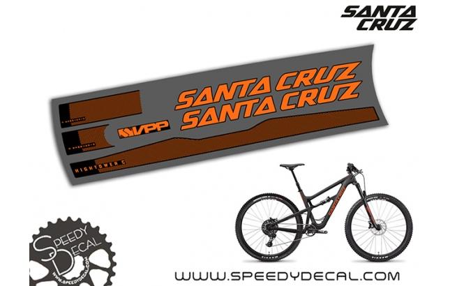 Santa Cruz Hightower C / CC 2019 - kit adesivi telaio