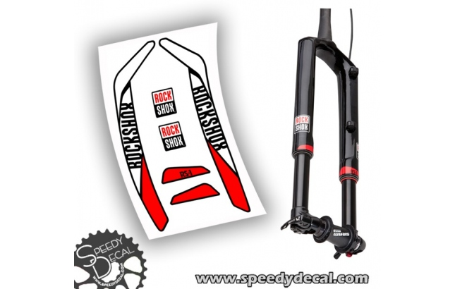 Rock shox RS-1 2016 - adesivi per forcella