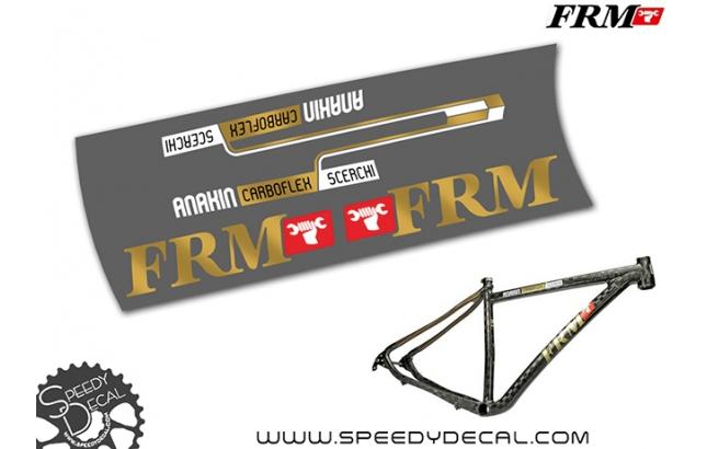 FRM Anakin 5 cerchi - kit adesivi per telaio
