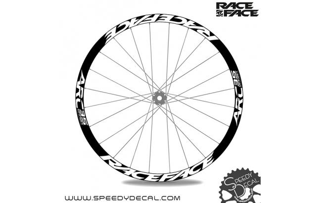 Race Face ARC35 Offset  - adesivi personalizzati per ruote