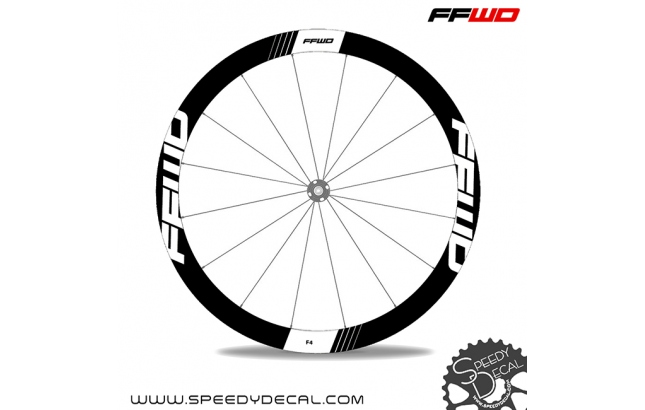 Fast Forward FFWD Wheels F4R 45mm - adesivi per ruote