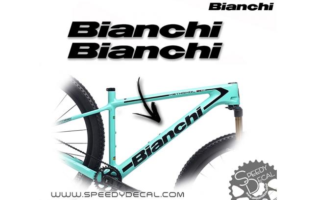 Bianchi - kit adesivi telaio