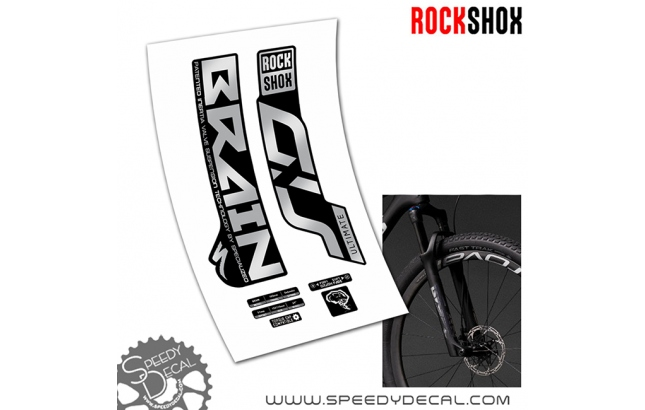 Rock shox Sid Brain 2020 - adesivi per forcella