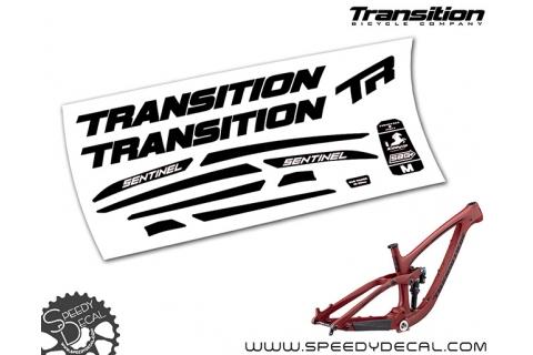 Transition Sentinel carbon 2019 - kit adesivi telaio