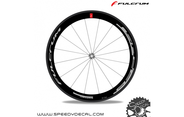 Fulcrum Speed 55C  - adesivi per ruote