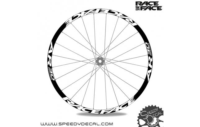 Race Face AR30 Offset  - adesivi personalizzati per ruote