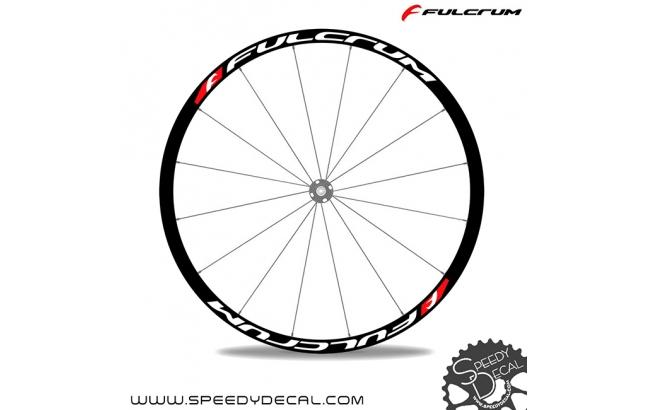 Fulcrum  - adesivi per ruote con logo