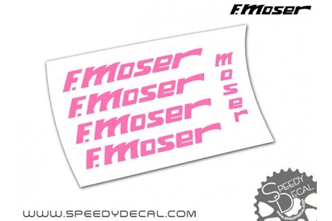 F.Moser vintage - kit adesivi telaio