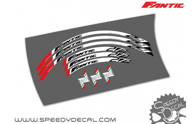 Fantic Xf1 integra - adesivi per ruote