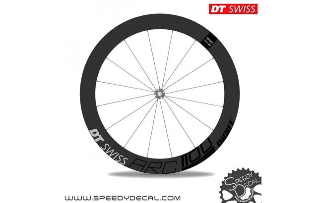 DT Swiss ARC1100 dicut disc - adesivi per ruote