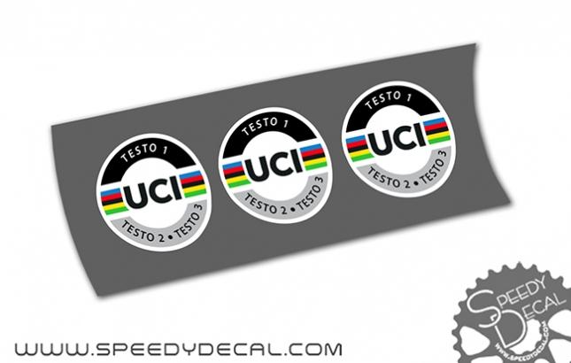 UCI Approved 2020 - Bollini personalizzati per telaio