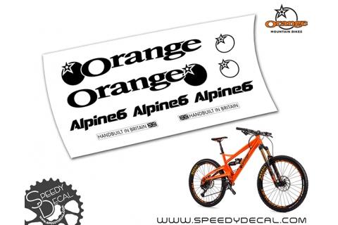 ORANGE ALPINE 6 - kit adesivi telaio