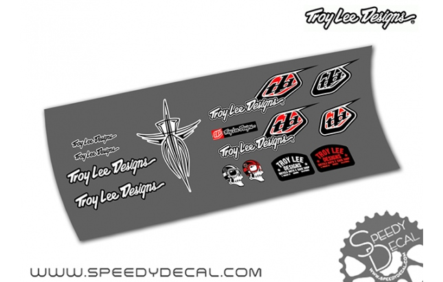 Kit adesivi misti Troy Lee Design