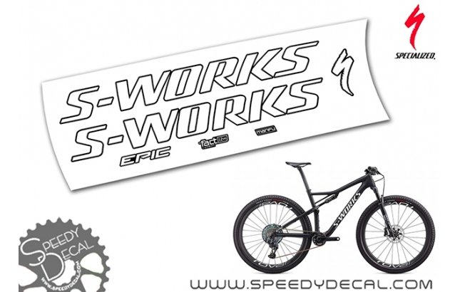 Specialized Epic S-works Sram axs 2020 - kit adesivi telaio