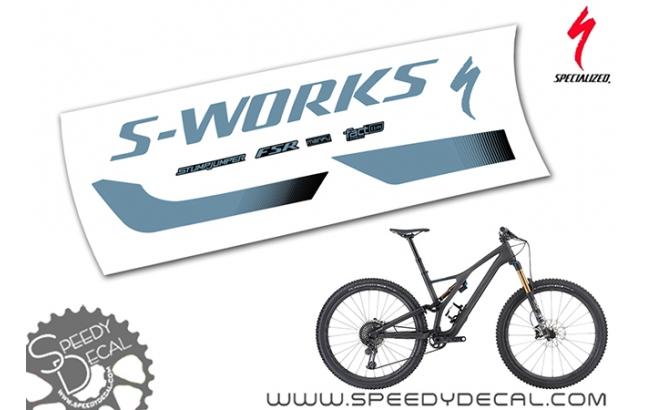 S-Works Stumpjumper 2020 - kit adesivi telaio