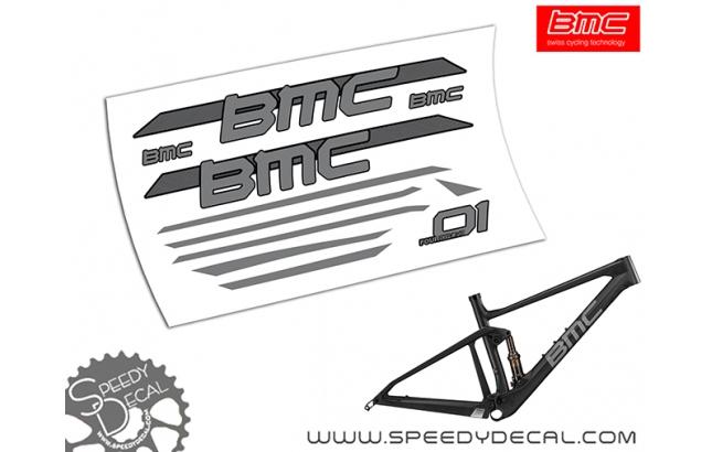 BMC FOURSTROKE 01 2019  - kit adesivi telaio