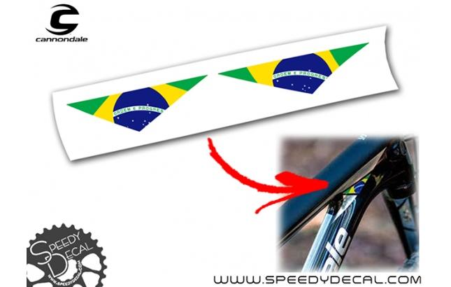 Bandiera nazionalità Cannondale Scalpel-Si 2019 - adesivi per telaio