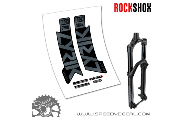 Rock Shox Lyrik Select / Select + RC 2020 - adesivi per forcella