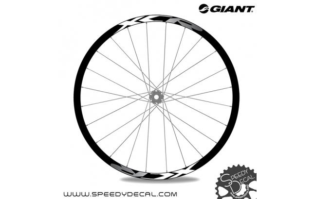 Giant XCR 2020 - adesivi per ruote