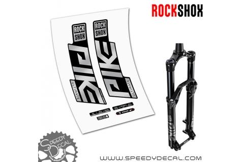 Rock shox Pike Ultimate anno 2020- adesivi per forcella