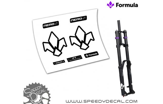 Formula Nero C - adesivi per forcella