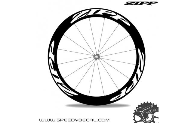 Zipp 404 Firecrest Disc *kit adesivi per 1 ruota*