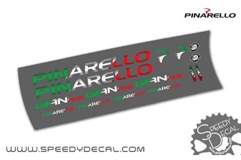 Pinarello Dogma Gan Rs Italia - kit adesivi per telaio