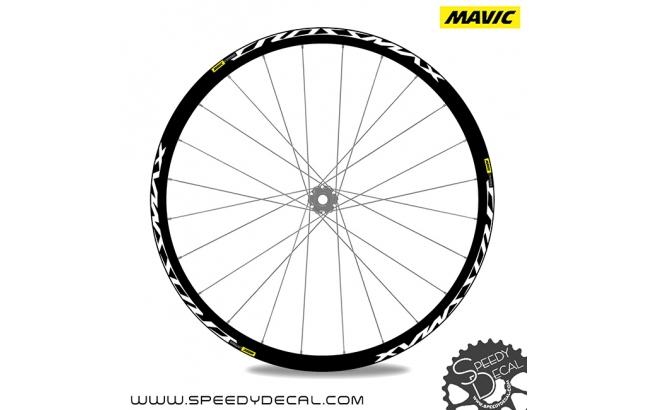 Mavic Crossmax Elite Carbon - adesivi per ruote